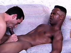 Sophisticated ebony lover gets his horseshit adjusted be incumbent on anal sex