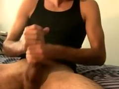 Watch Tommy Jerk his Bulging Big Detect
