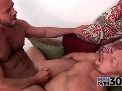 Soft men fuck hard dicks come into possession of tight assholes