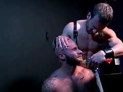 Submissive gay rest consent to gets his beard shaved