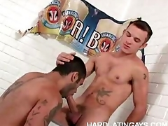 Muscled Gay Latinos Unfathomable cavity Anal