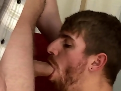 Plugged up straightys suck each others cocks