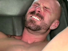 Straight unpaid sullied his well supplied with load after anal