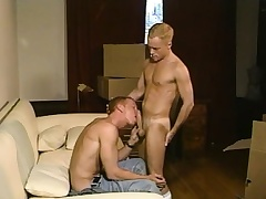 Despondent blonde twink loves to work his fiery anal hole on a stiff perforate
